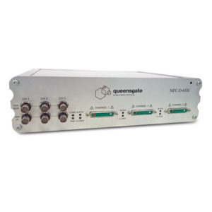 QGPC-D-6000 Nanopositioning control electronics and software Multi-channel Closed Loop Controller