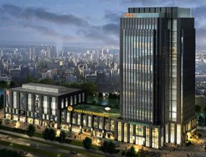 The new Prior office in China